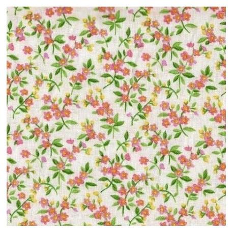 Tissu patchwork fleuris clair 15609 tissu pas cher - Tissu patchwork pas cher ...