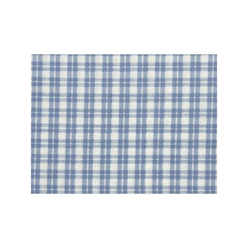 tissu patchwork carreaux bleu ciel et blanc 13700. Black Bedroom Furniture Sets. Home Design Ideas