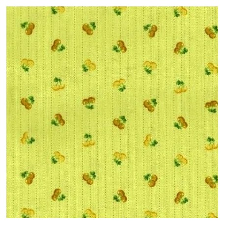 tissu patchwork fruits fond vert 15621 tissu pas cher. Black Bedroom Furniture Sets. Home Design Ideas