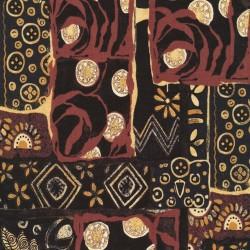 Tissu patchwork Woodblock - 19868