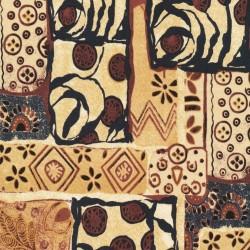 Tissu patchwork Woodblock - 19869