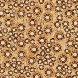 Tissu patchwork Woodblock - 19878