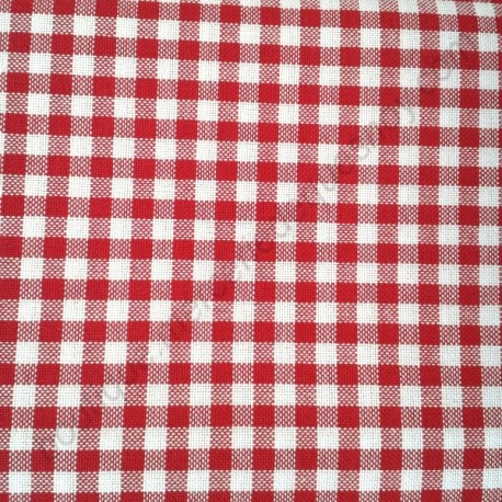 murano carr rouge et blanc zweigart toile broder boutique mercerie de quesnoy. Black Bedroom Furniture Sets. Home Design Ideas