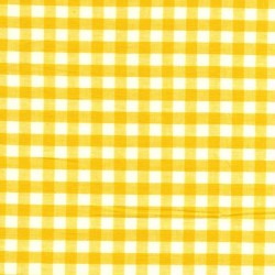 Vichy jaune grands carreaux