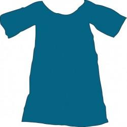 Teinture tissu fibres naturelles : 23-bleu saphir