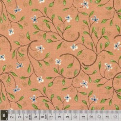 Around town, Red Rooster, motif 24097- peach1
