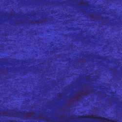 Velours moiré stretch bleu royal