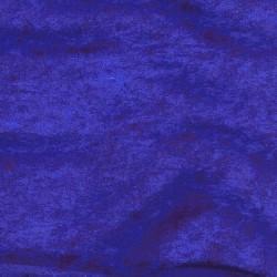 Velours moiré stretch bleu royal