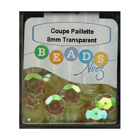 Coupe Paillette Transparent