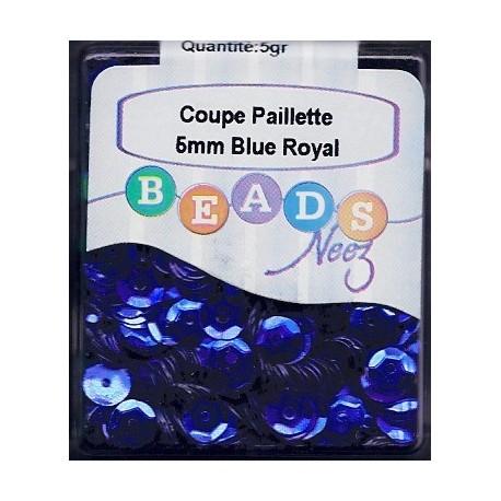Coupe Paillette Bleu Royal