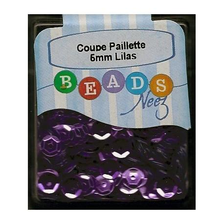 Coupe Paillette Lilas