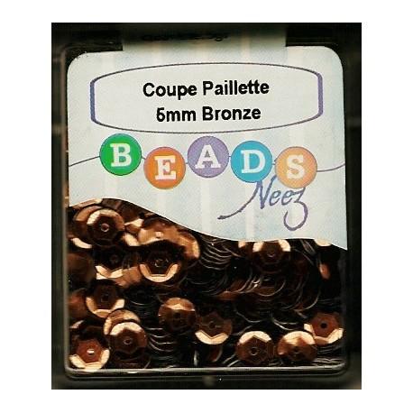 Coupe Paillette Bronze