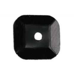 Paillette Carrée Noir