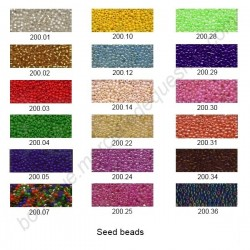 Seed beads 2mm