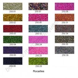Rocailles - Perle de verre 2mm