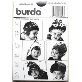 Burda 3956 - patrons de chapeaux pour bébé