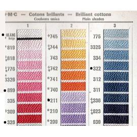 Coton perlé 5 - Dmc