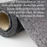 Thermocollant fin non tissé noir type H180
