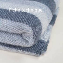 Fiche technique plaid NFB