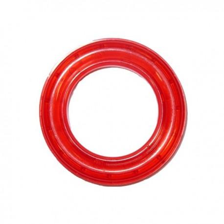 Translucide rouge